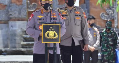 Pimpin Apel Pasukan Sambut Wisman di Bali, Kapolri: Sebagai Gerbang Terakhir Tolong Disiplin